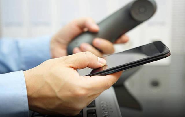خدمات الاتصالات في الهواتف النقالة