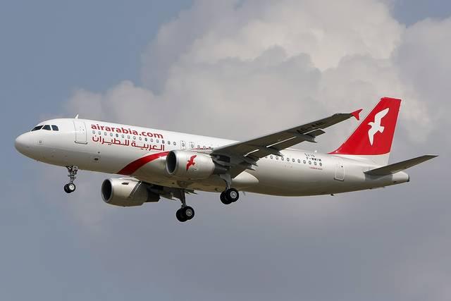 طائرة تابعة للعربية للطيران