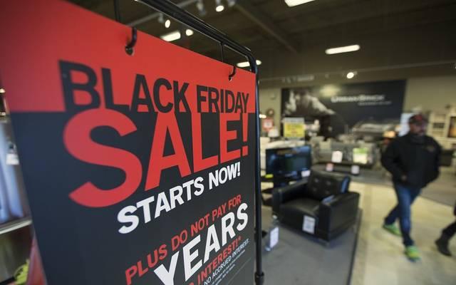 المبيعات الأمريكية عبر الإنترنت تقفز لمستوى قياسي بالجمعة السوداء