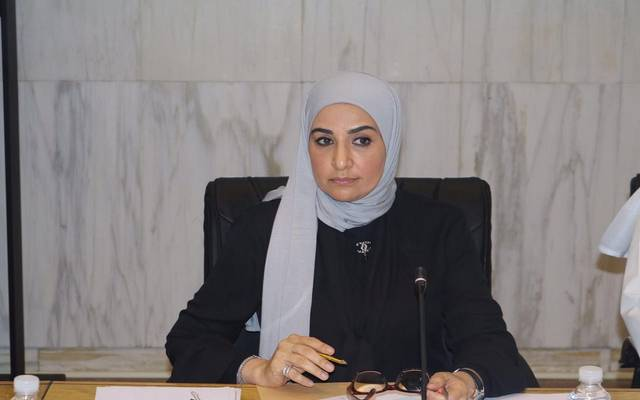 وزیرة الدولة للشؤون الاقتصادیة الكویتیة مریم العقیل