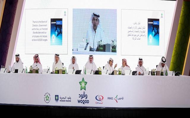 جانب من انعقاد العمومية العادية وغير العادية لشركة قطر للوقود