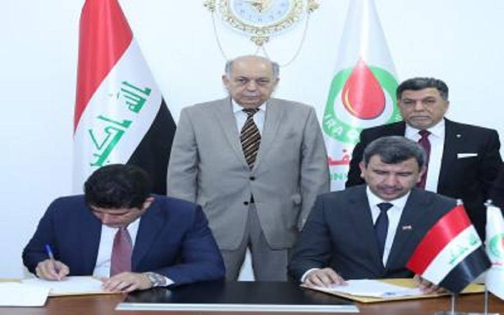 Oil announces the signing of two contracts to dig 40 wells in Majnoon field 1024