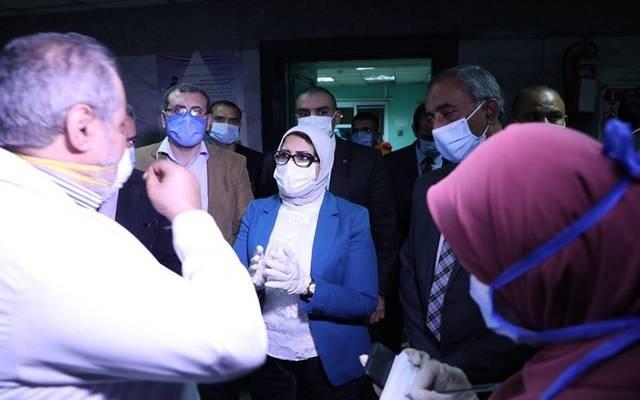 وزيرة الصحة في جولة تفقدية