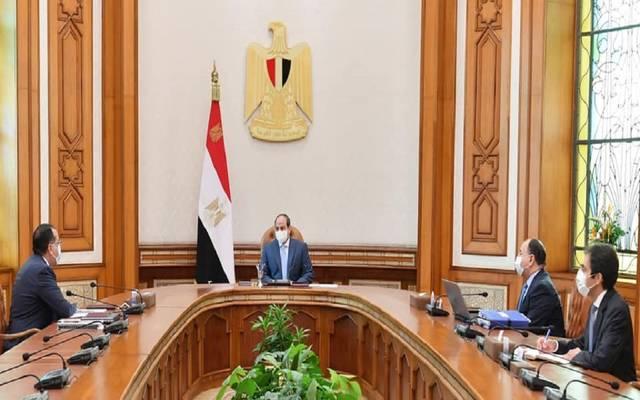 الرئيس عبد الفتاح السيسي يتابع مؤشرات الأداء المالي للموازنة العامة للدولة