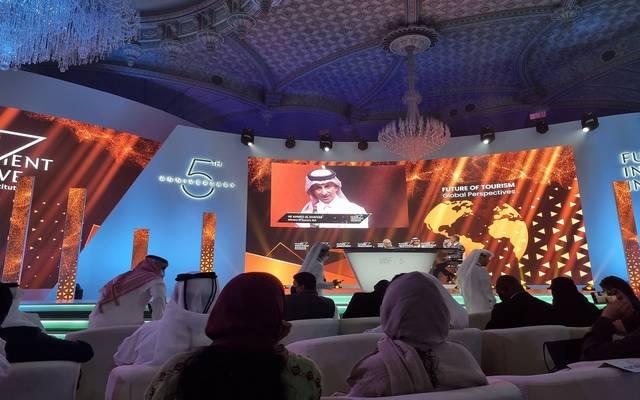 وزير السياحة خلال كلمته في مؤتمر مبادرة مستقبل الاستثمار بدورته الخامسة والمنعقد في الرياض