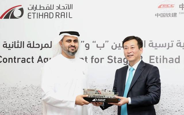 """Etihad Rail will sustain the growth of our transport industry"""