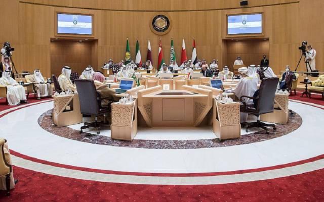 جانب من اجتماع المجلس الوزاري الخليجي