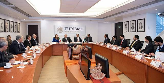 The UAE and Mexico discussed ways for economic cooperation