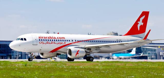 إحدى الطائرات التابعة لشركة العربية للطيران