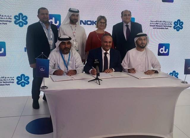 du, Nokia, and SRTIP to upgrade Sharjah's strategic digital transformation roadmap