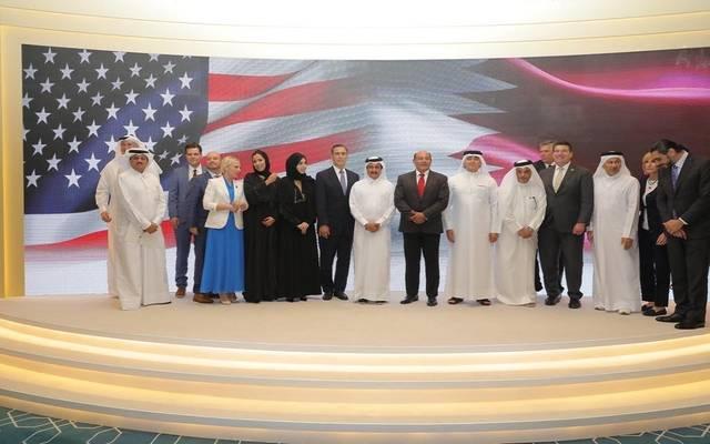 خلال استقبال رئيس غرفة قطر للوفد الأمريكي