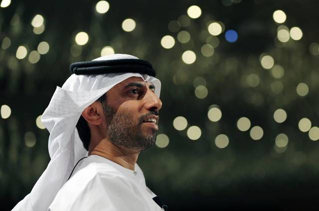 UAE Minister of Energy and Industry Suhail Al Mazroui