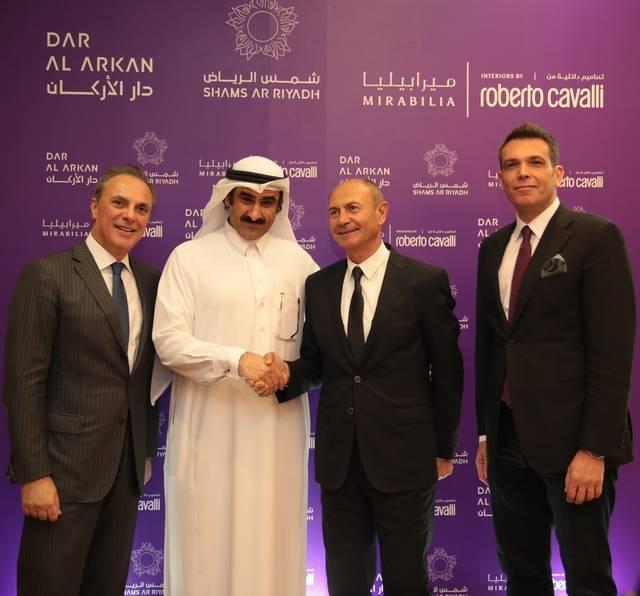 Dar Al Arkan, Roberto Cavalli start SAR 600m villas development in Shams Ar Riyadh