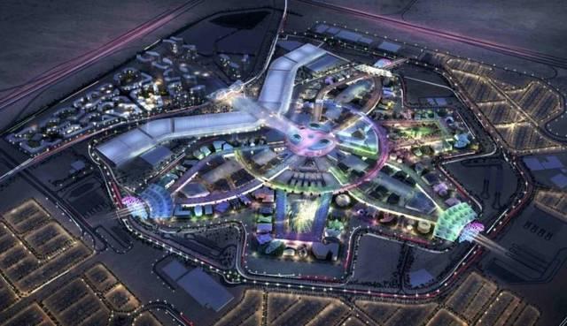 جانب من معرض إكسبو دبي 2020