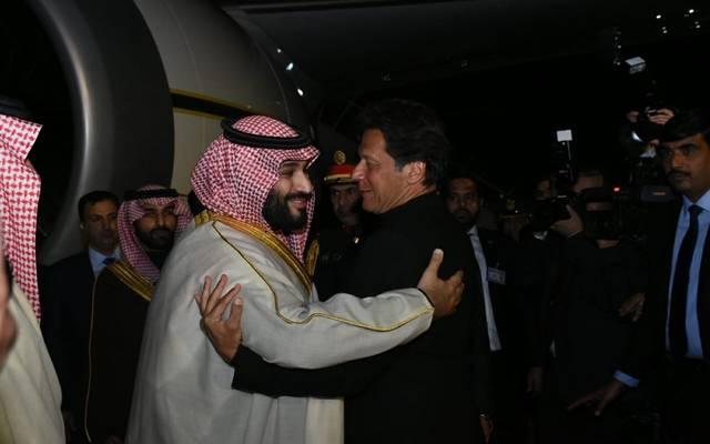 ولي العهد السعودي يصل باكستان في زيارة رسمية