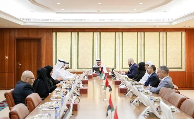 اجتماع سابق للجنة التنمية الاقتصادية في إمارة عجمان