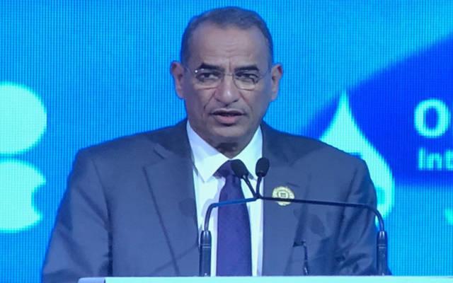 وزیر النفط ووزیر الكهرباء والماء الكویتي، بخیت الرشیدي