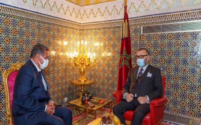 العاهل المغربي ورئيس الحكومة الجديد